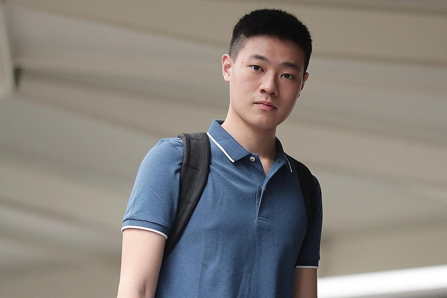 Jonathan Lee Han Wen, a Singaporean, was charged with five offences under the Enlistment Act. He is now out on bail of $10,000.