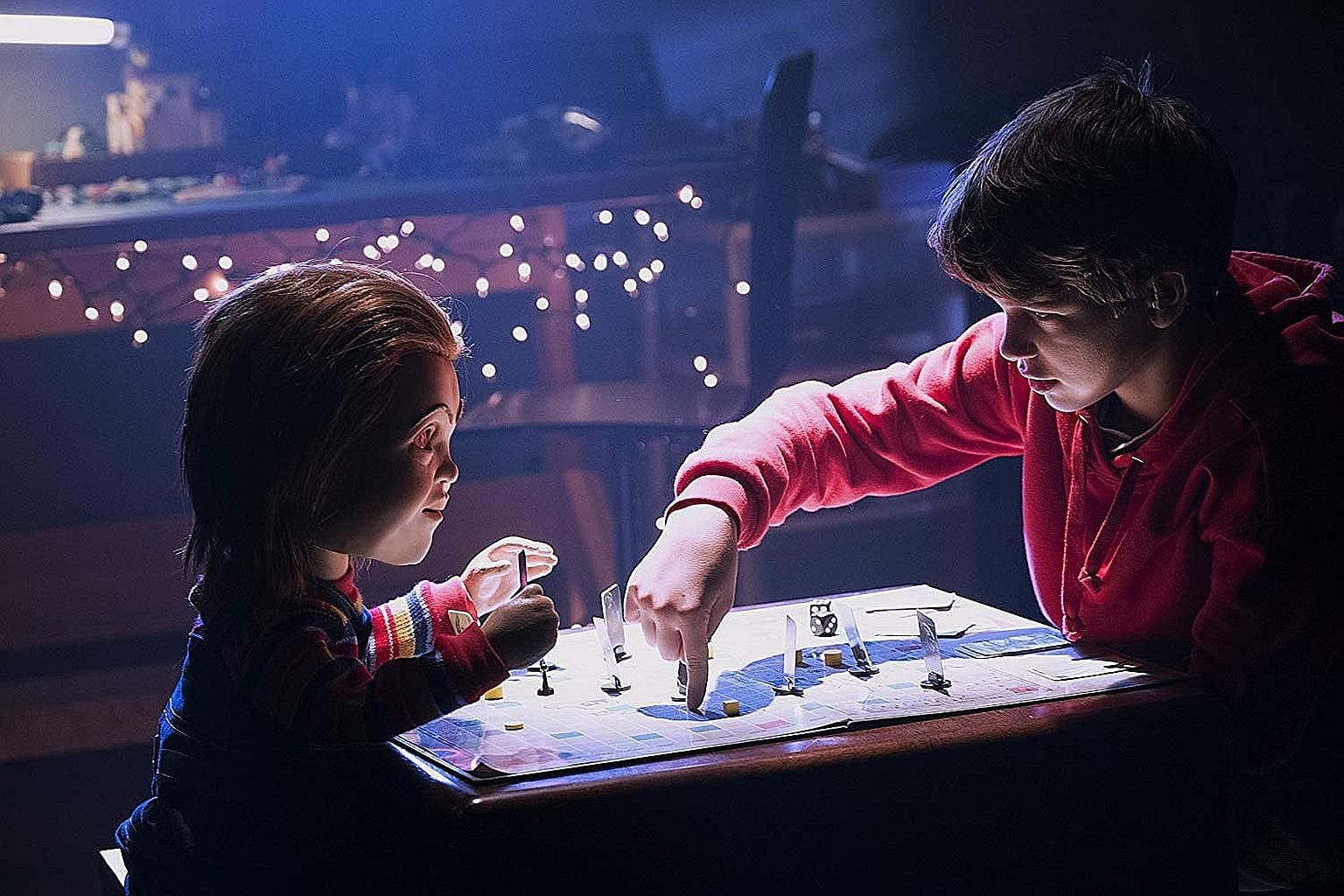 In Child's Play, Chucky is a birthday present to a lonely hearing-impaired 13-year-old played by Gabriel Bateman.