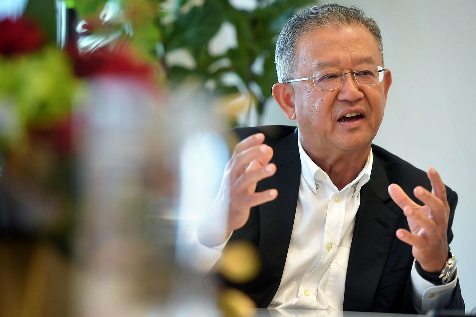 AIA group CEO and president Ng Keng Hooi, who has been in the industry for almost 40 years, says the firm has made huge investments in technology and its people to keep up with the times.