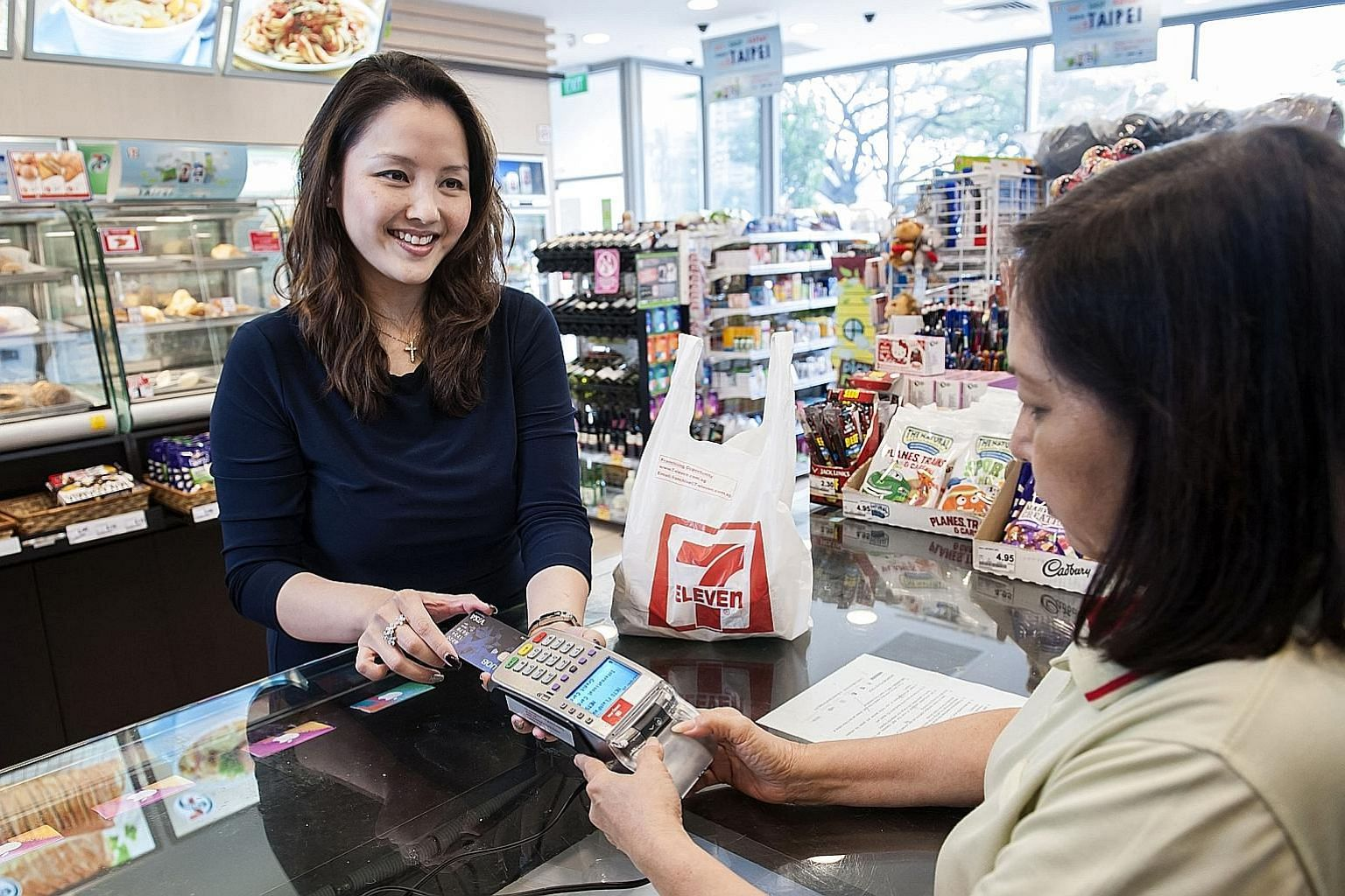 Even as mobile wallets such as GrabPay, Singtel Dash and DBS PayLah! are growing in popularity, banks are making more from credit cards. Billings totalled $5.1 billion in April this year, a jump from $5.05 billion in July last year, figures from the Mone