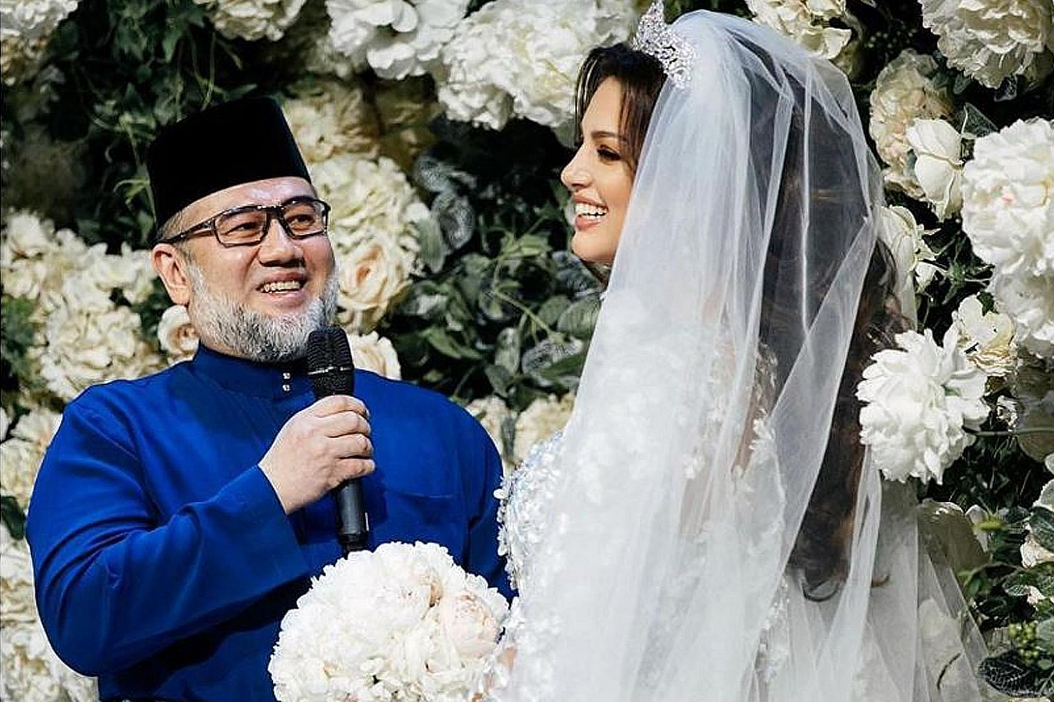 Sultan Muhammad V of Kelantan is said to have divorced Ms Oksana Voevodina on June 22, about a year after their surprise marriage in Moscow.