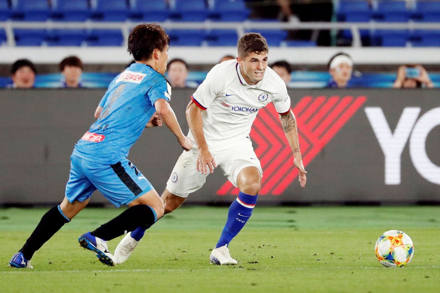 United States midfielder Christian Pulisic is expected to take up the attacking mantle of the departed Eden Hazard.