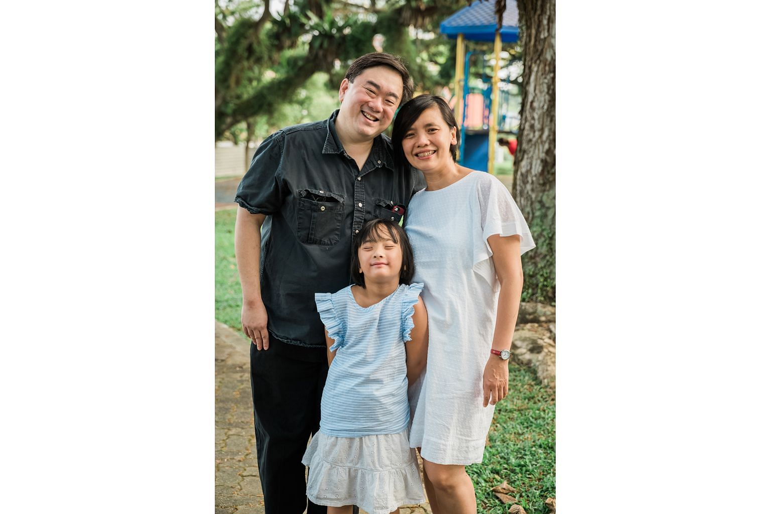 Mr Colin Goh and his wife Woo Yen Yen recently moved to Taiwan so their daughter Kai Yen can learn Chinese.