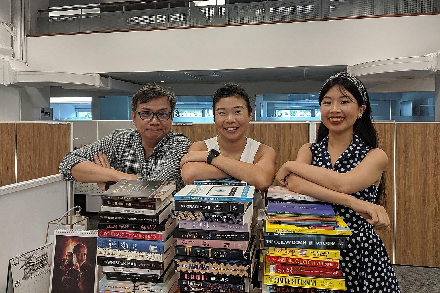 Join journalists (from left) John Lui, Melissa Sim and Olivia Ho in this week's Life Picks podcast.