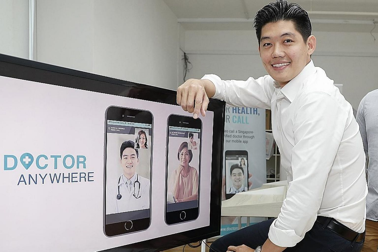 Start-up Doctor Anywhere was founded by Mr Lim Wai Mun. It offers a range of services - such as consultations, claims management, appointment booking and wellness shopping - in a single app.
