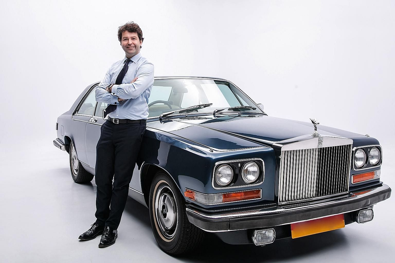 Mr Patrick Saurini imported the 1975 Rolls-Royce Camargue and had it registered as a classic last December.