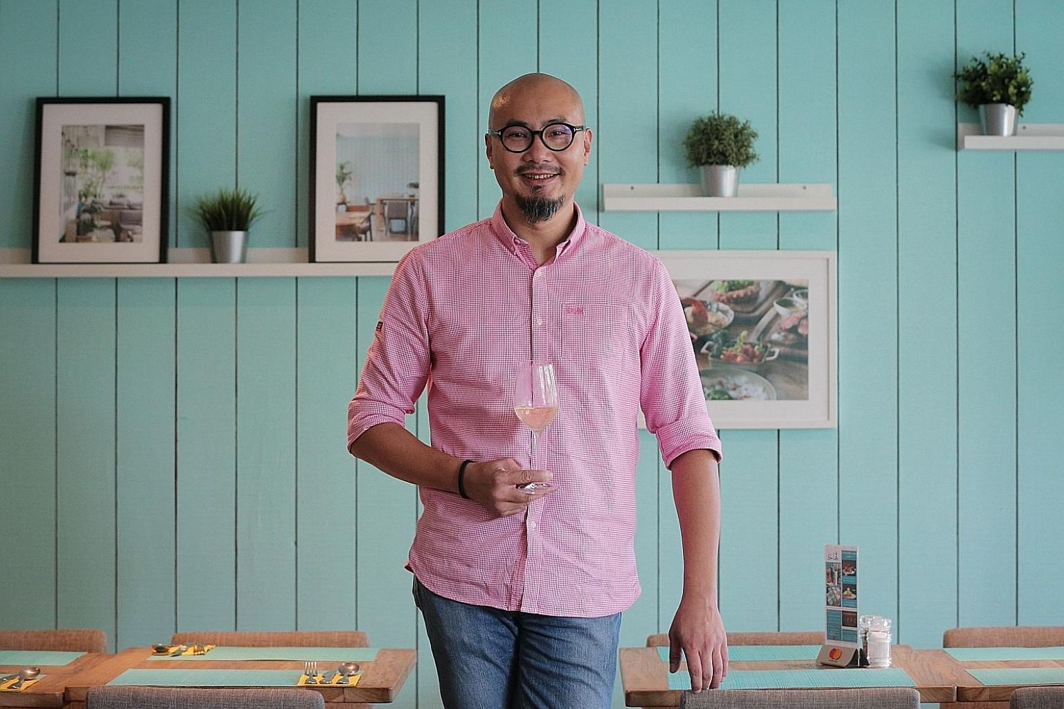 Mr Ricky Ng, founder of Blue Lotus Group - known for its offerings of Asian dishes done with a twist - is planning restaurants in Australian cities as well as a chain of noodle bars located near universities.