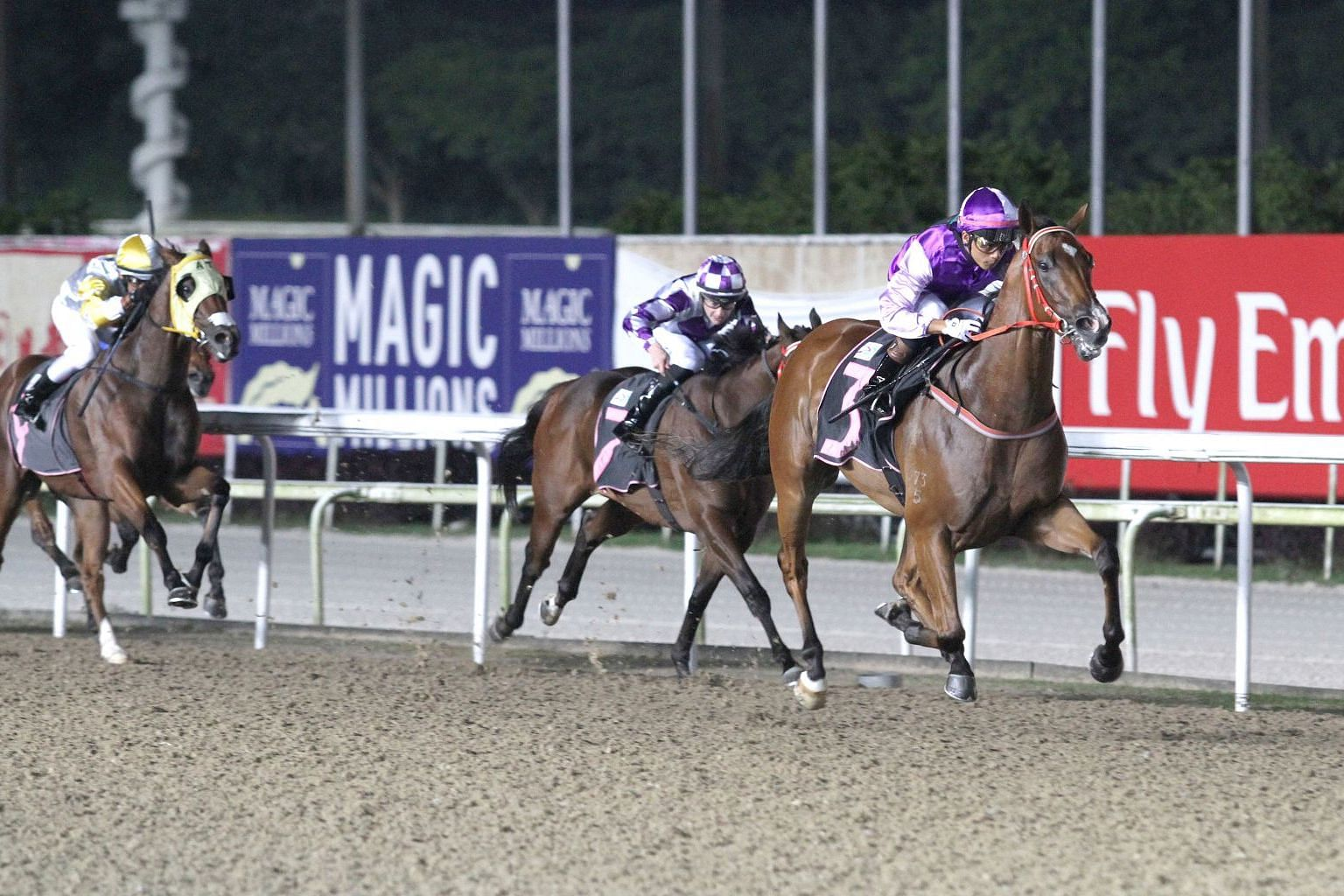 Latest HORSE RACING | The Straits Times