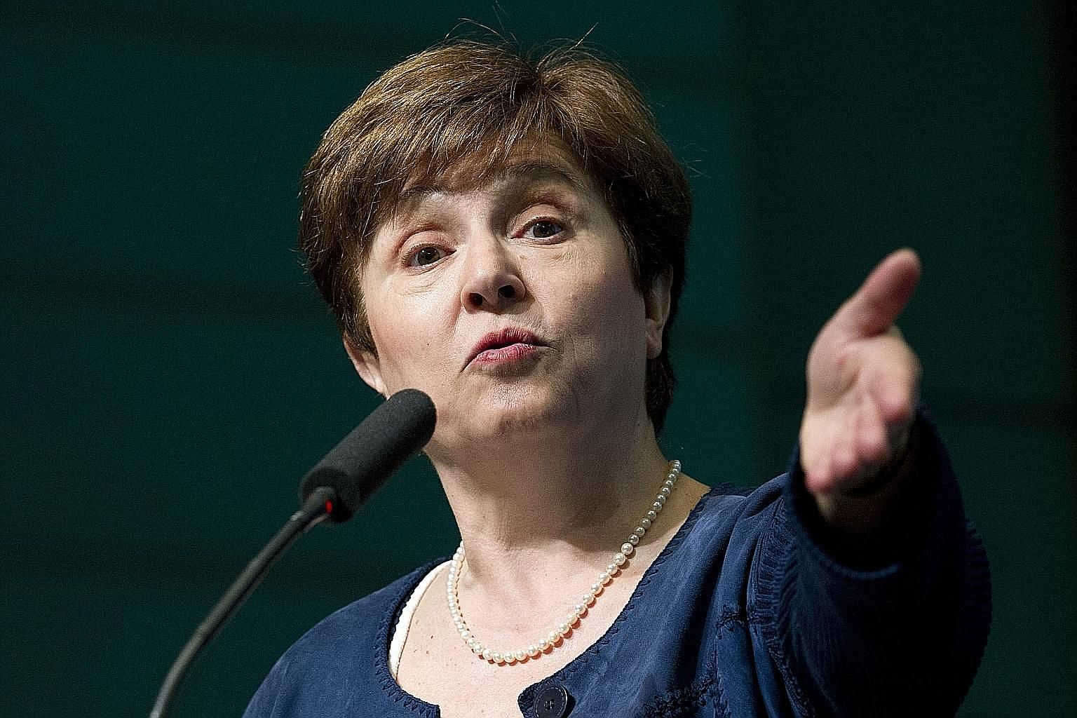 Dr Kristalina Georgieva is known for her efficiency and enthusiasm, and is well used to top international roles.
