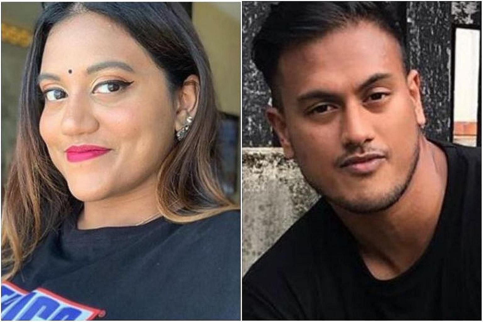 """YouTuber Preetipls, also known as Preeti Nair, and her brother, rapper Subhas Nair, made an online video responding to epaysg's """"brownface"""" ad with a rap insulting Chinese Singaporeans, using four-letter words and vulgar gestures. They have apologise"""
