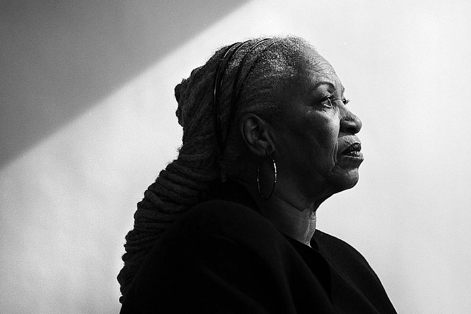 Writer Toni Morrison (in a 2008 file photo) produced landmark works that foregrounded the African-American experience, particularly from a female perspective.