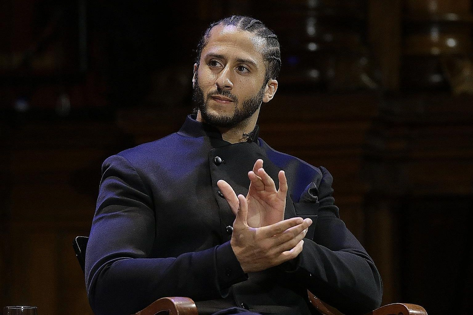 Colin Kaepernick tweeted on Wednesday that he has not played in the National Football League for 889 days.