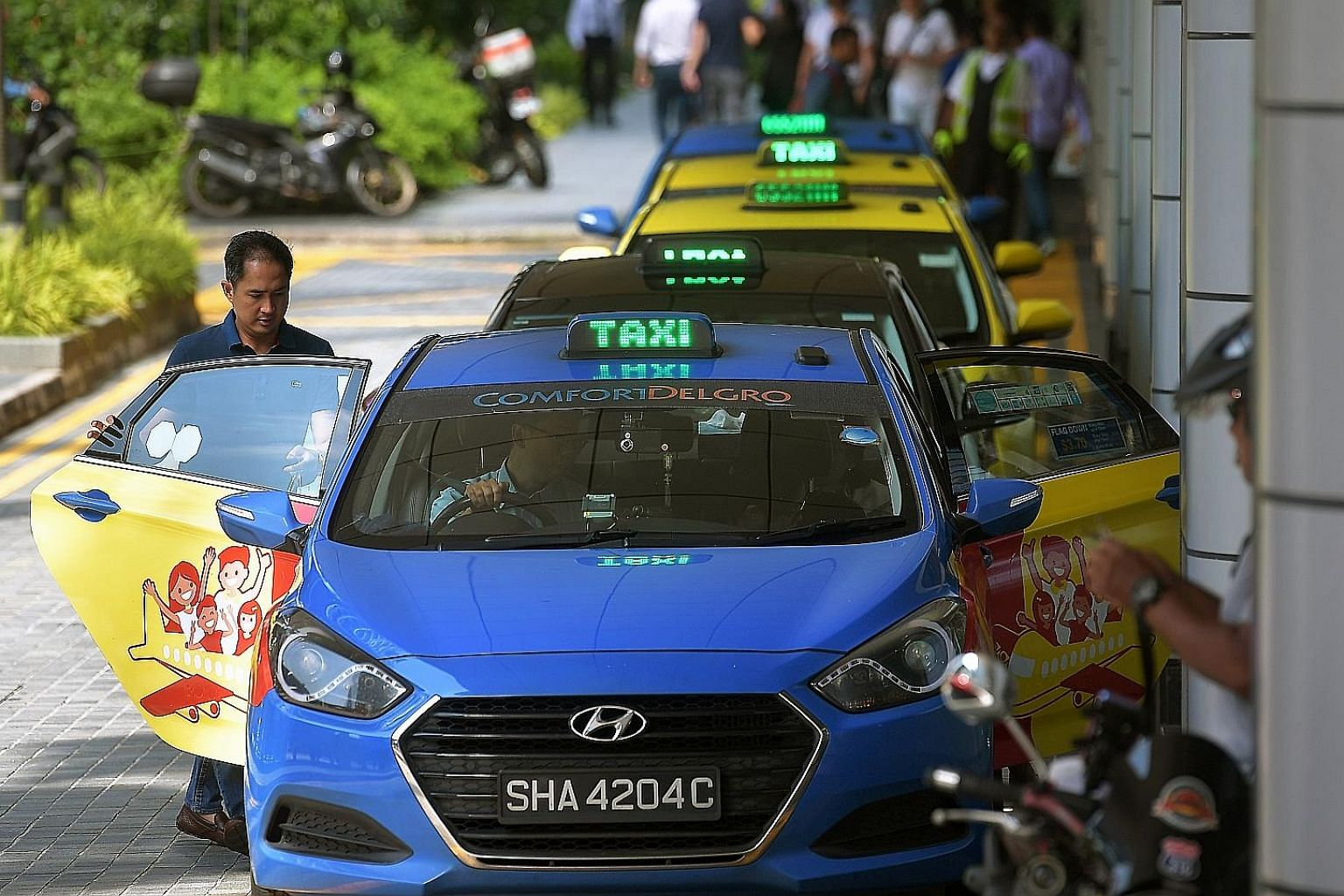 Net profit at the Singapore-based ComfortDelGro was 3.5 per cent higher at $146.3 million for the half year. Its public transport businesses accounted for the lion's share of earnings in the first six months, with operating income of $117.9 million -