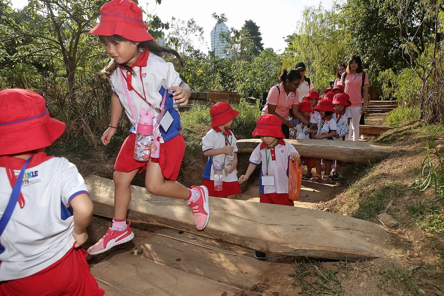 Prime Minister Lee Hsien Loong said the Government spends $1 billion a year on early childhood education and this will more than double over the next few years. In the future, 80 per cent of pre-school places will be government-supported, up from jus