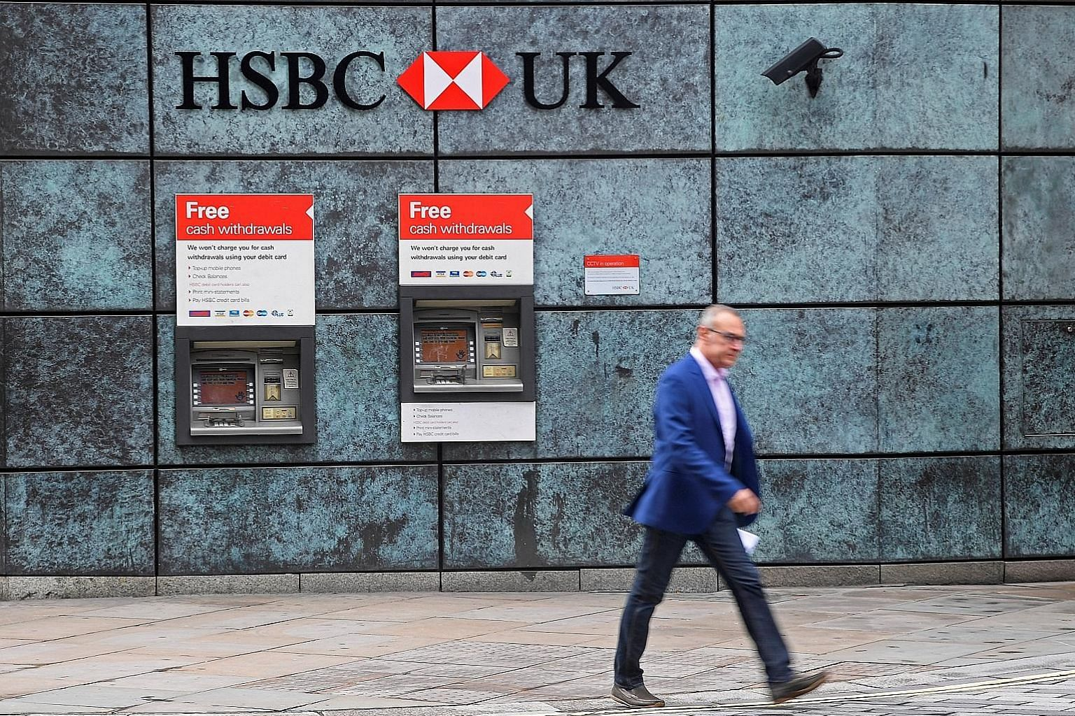 HSBC Holdings thwarted a US$500 million (S$691 million) central bank heist when a teller at a suburban branch became suspicious, declined a request to transfer US$2 million, and triggered a review, according to one account.