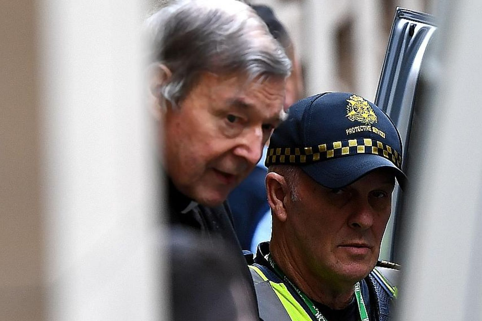 George Pell was jailed for six years in March after being found guilty on five charges of abusing the two 13-year-old boys at St Patrick's Cathedral when he was archbishop of Melbourne. PHOTO: DPA
