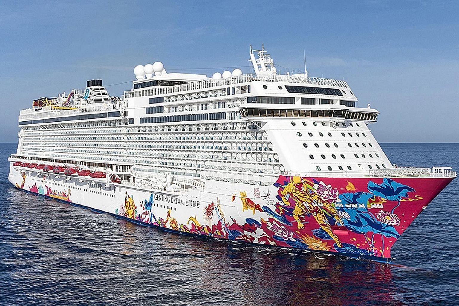 Mr Goh Hai Peng, a retired electrician travelling alone, boarded the Genting Dream cruise ship on Aug 4. It was only on Aug 7, when he did not disembark after the ship returned to Singapore, that the crew discovered Mr Goh was no longer on board.