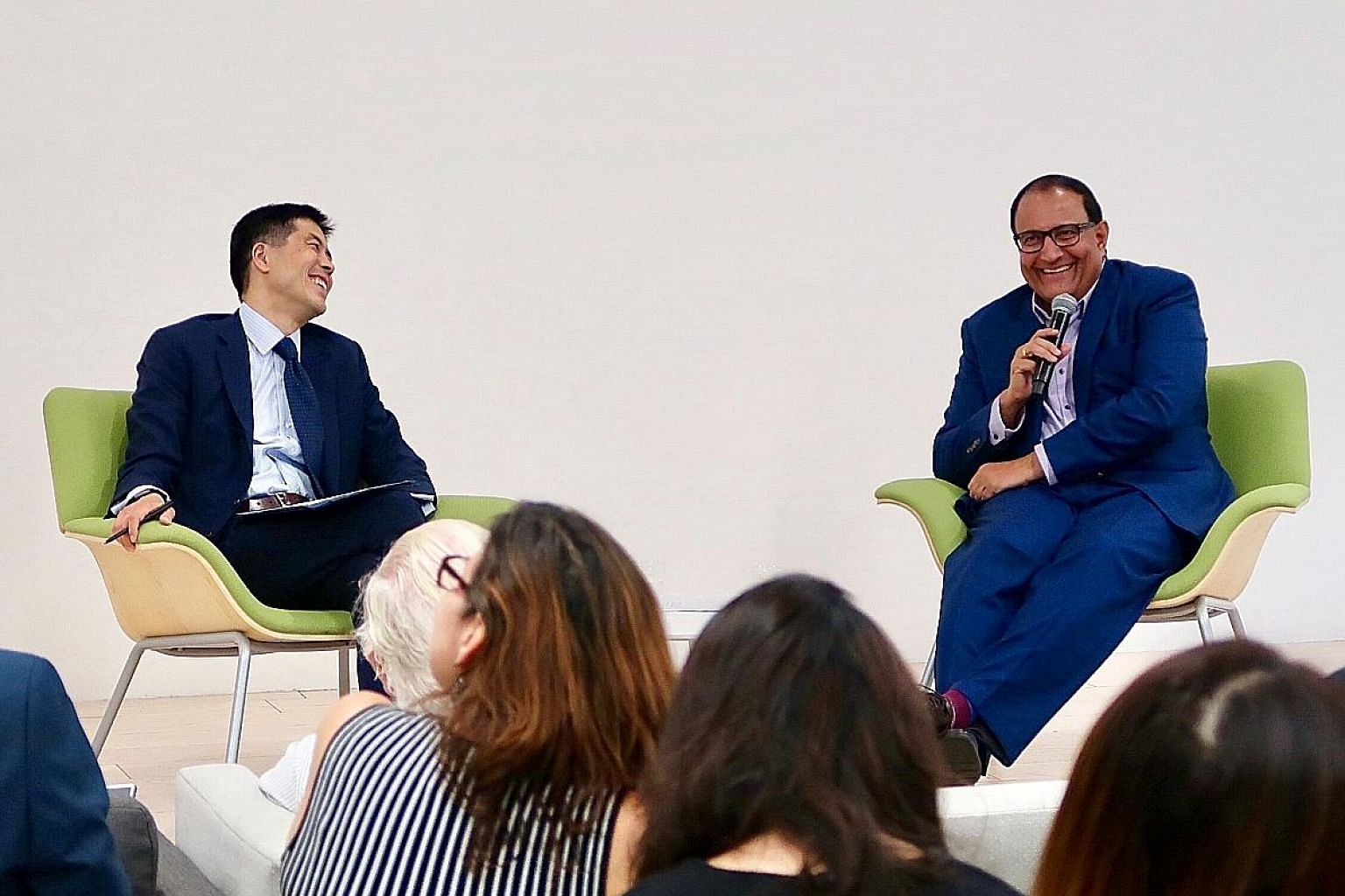 Minister for Communications and Information S. Iswaran at a dialogue at the Asia Society (Northern California Centre) on Thursday, where he said that there is a need for more international engagement on the norms that govern digital economy activity