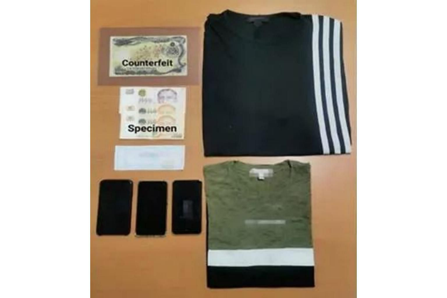 Latest COUNTERFEITS/FORGERY | The Straits Times