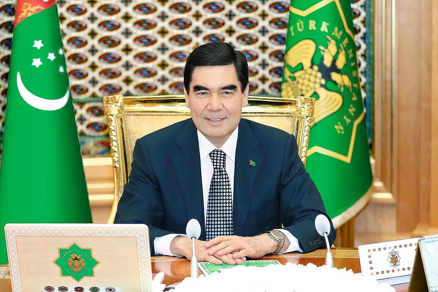 Turkmenistan President Gurbanguly Berdimuhammedow will meet Singapore business leaders to discuss commercial opportunities in his country. He will also witness the signing of two agreements and a memorandum of understanding on legal cooperation.