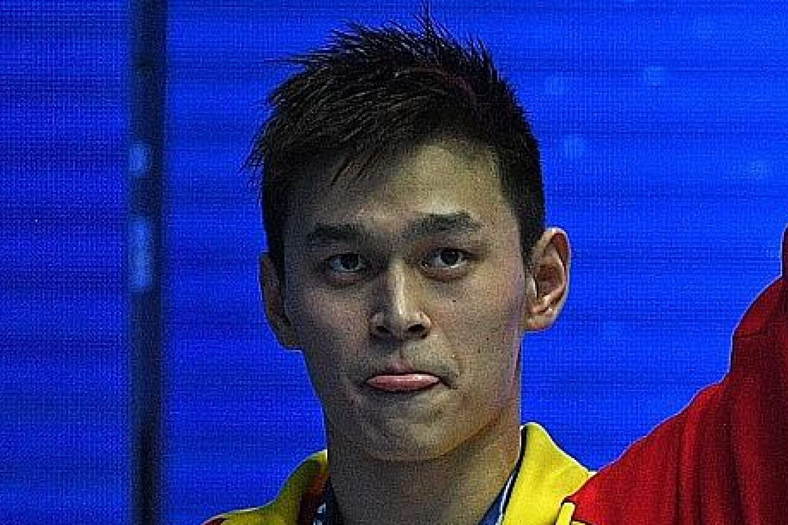 Sun Yang will face a public hearing with the Court of Arbitration of Sport later this year.