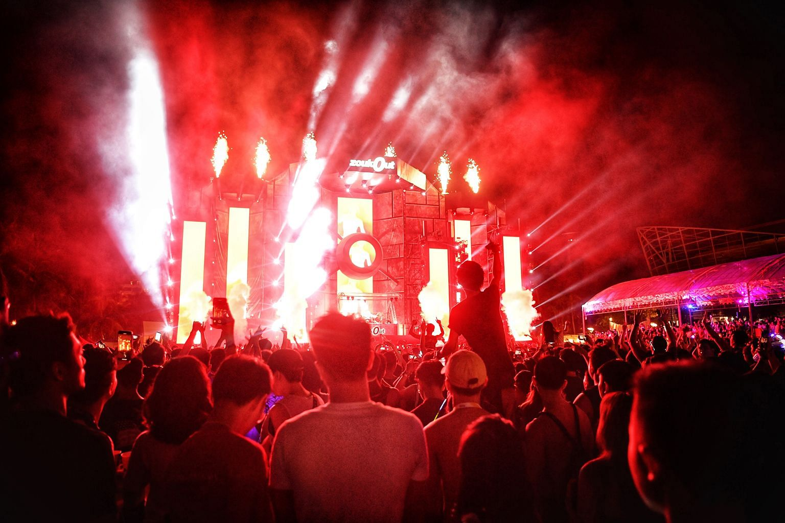 Last year's edition of ZoukOut drew just 20,000 attendees.