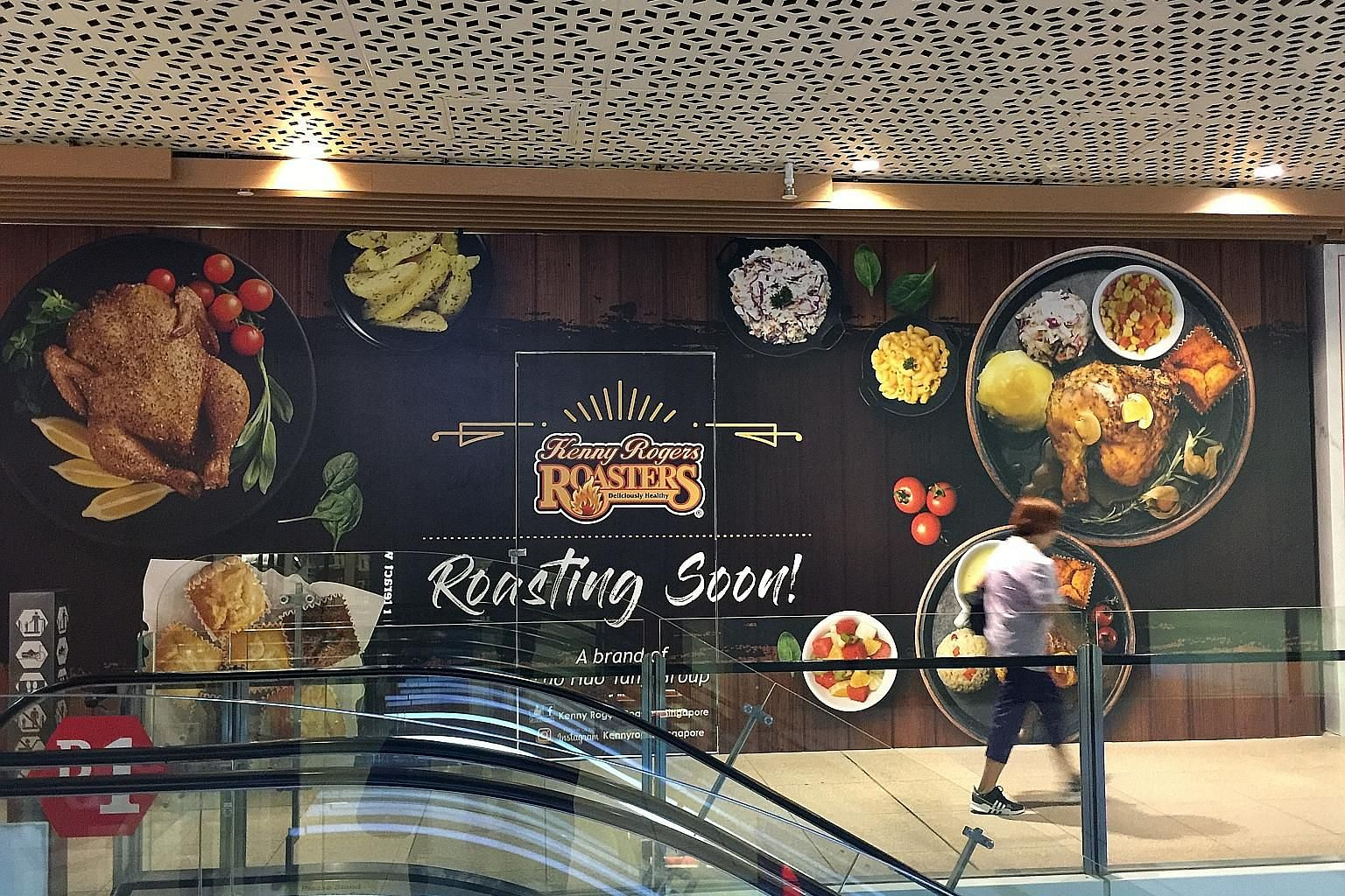 The new Kenny Rogers Roasters at Jem will sport a modern new look and be halal-certified.