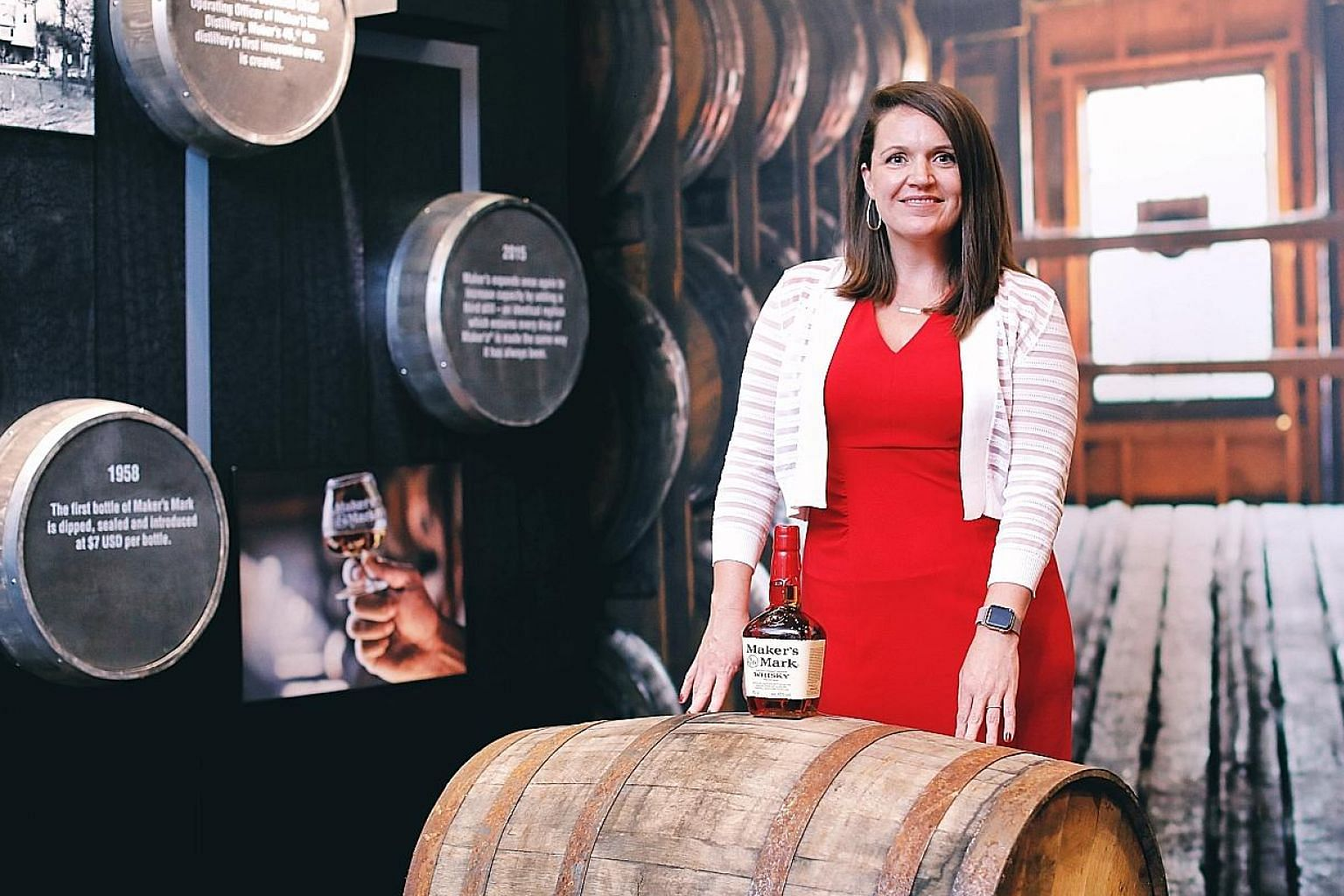 An industry expert will lead each tour and guests may also meet brand ambassadors and master distillers. Westward Whiskey founder Christian Krogstad (above) and Maker's Mark's Jane Bowie (left) are upbeat about the market here.