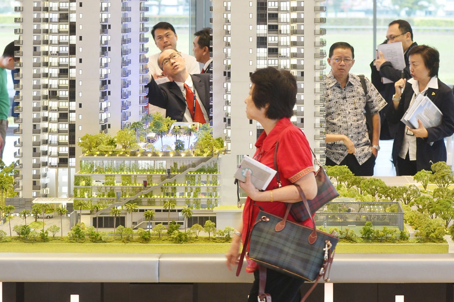 Going forward, analysts expect tax collection, in areas such as corporate income tax and stamp duties for property sales, to slow given the current economic slowdown. ST FILE PHOTO
