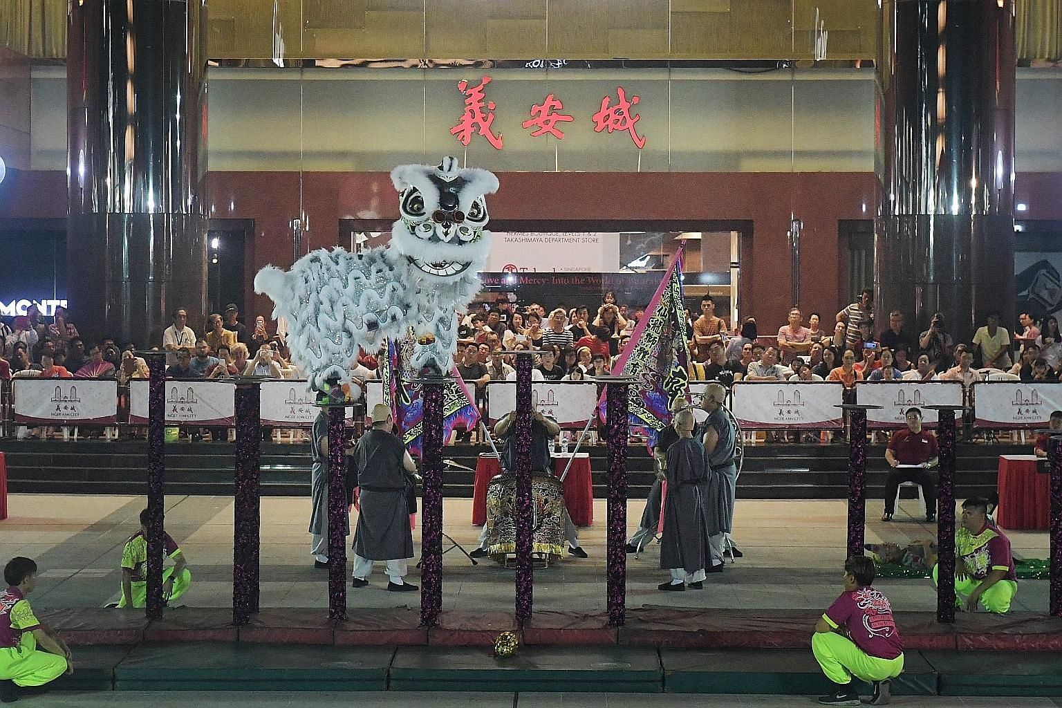 Visitors to Orchard Road can expect to have a roaring good time over the next few days. Some of Singapore's best lion dance teams will be battling it out this week at the 25th Ngee Ann City National Lion Dance Championships 2019, at Ngee Ann City Civ
