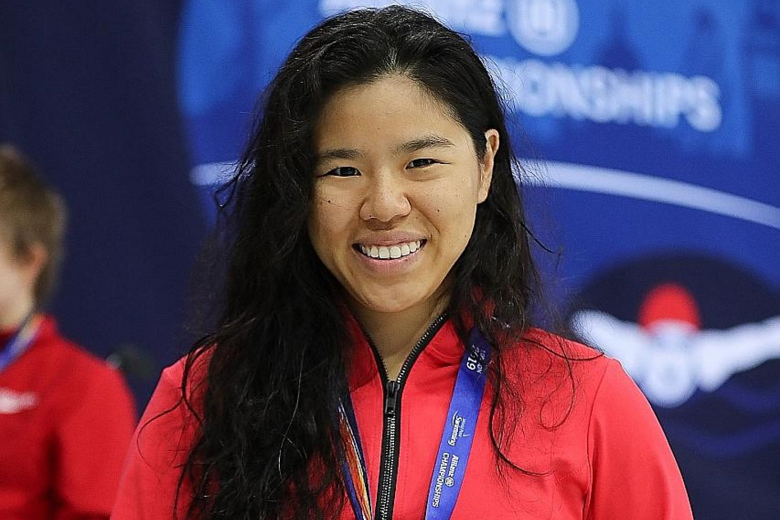 Nine years after her first world title, Yip Pin Xiu is finally a world champion again. The 27-year-old Singaporean, who has muscular dystrophy, which leads to progressive weakening of the muscles, clinched gold in the women's 100m backstroke S2 event