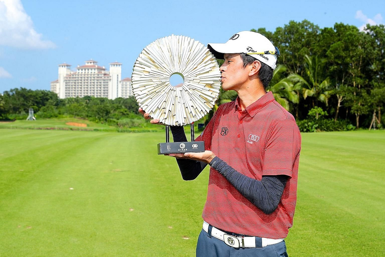 Quincy Quek earned his biggest professional win at the Haikou Classic, becoming the first Singaporean to win on the PGA Tour Series-China. He raked in 288,000 yuan (S$55,890).