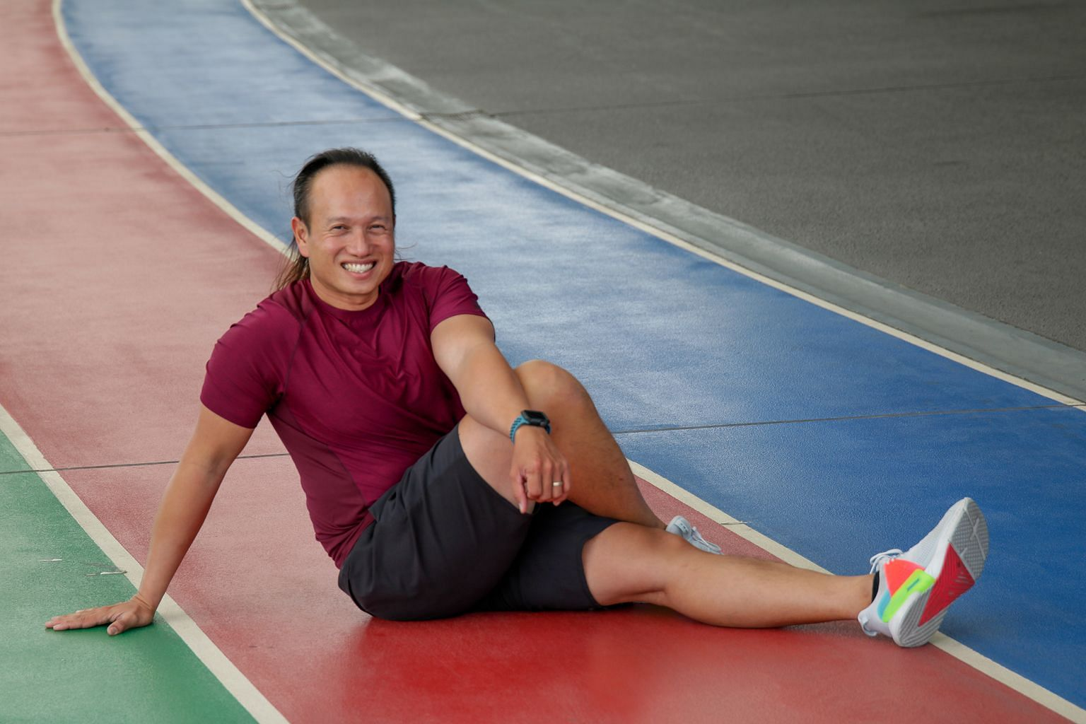 Personal trainer Shawn Quek feels that being fit helped him bounce back faster from his 10-month cancer journey.