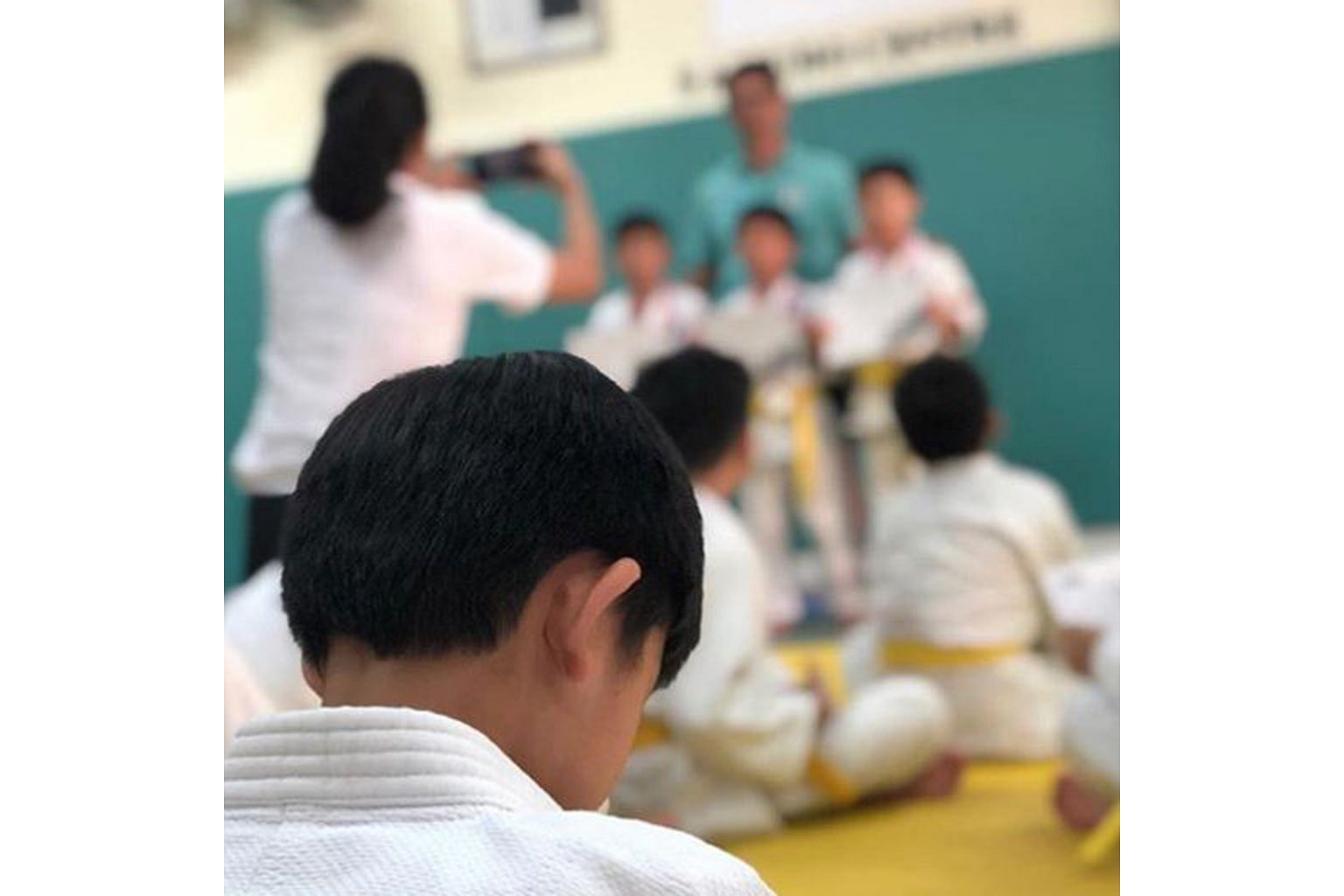 WIN OR LOSE...: It is the experience that counts. That is probably the message that home-grown singer Stefanie Sun wanted to send to her son after he failed to win in a judo competition. Her six-year-old son was taking part in the competition for th