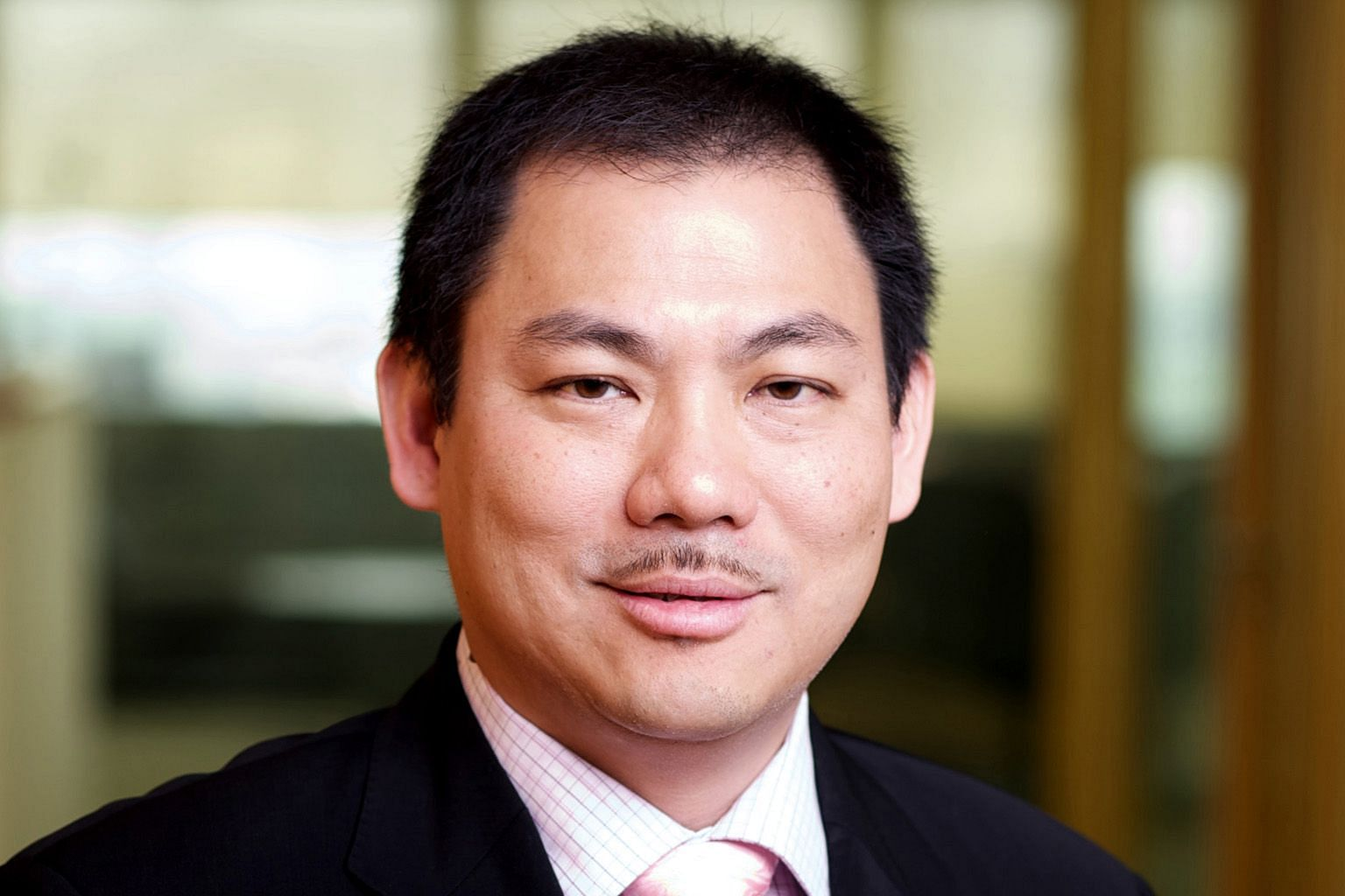 Tiong Seng Holdings' chief executive Pek Lian Guan is one of two company executives interviewed by the CPIB.