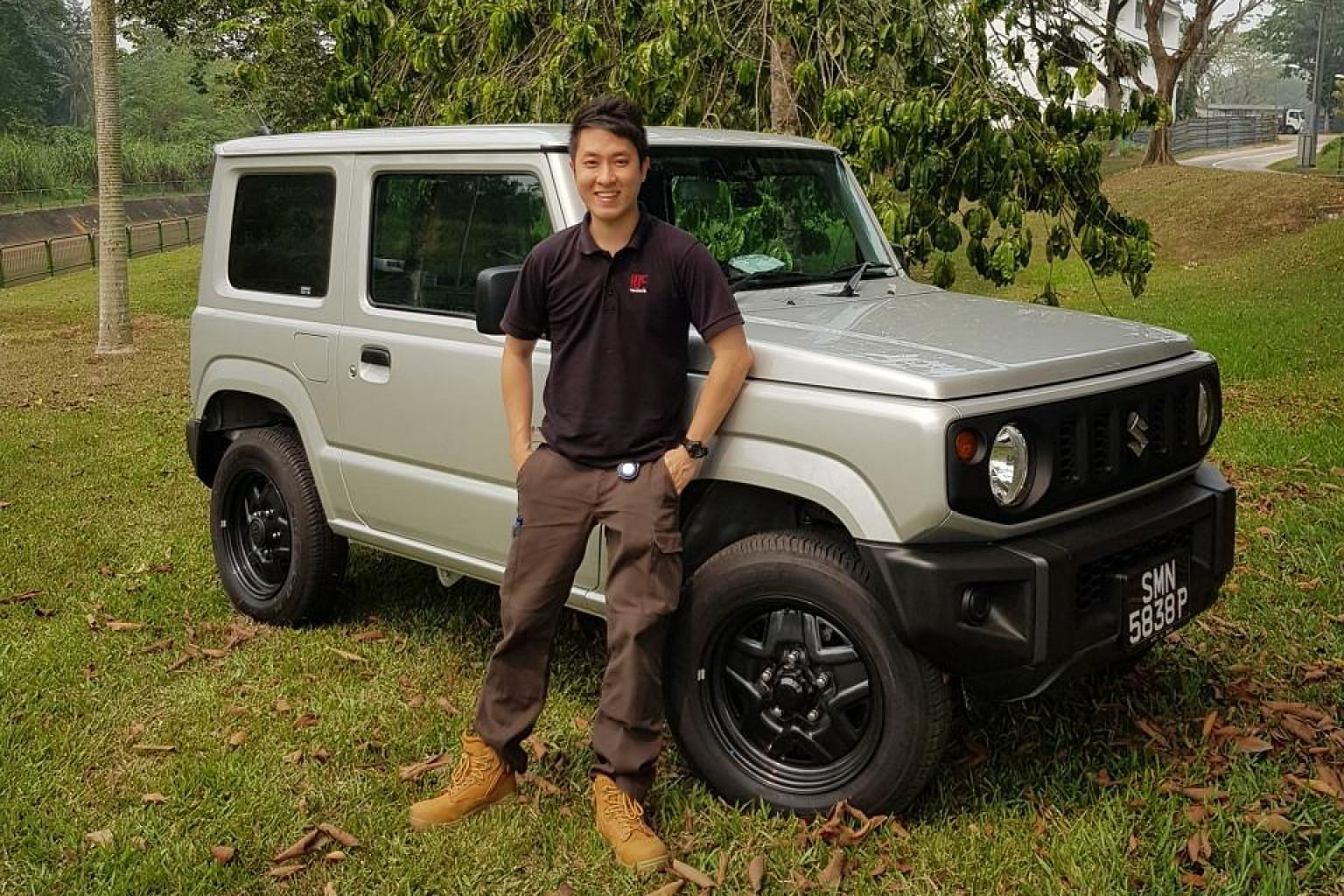Mr Elijah Lin clocked 2,300km on the Suzuki Jimny in the first three weeks of ownership - more than double the national average.