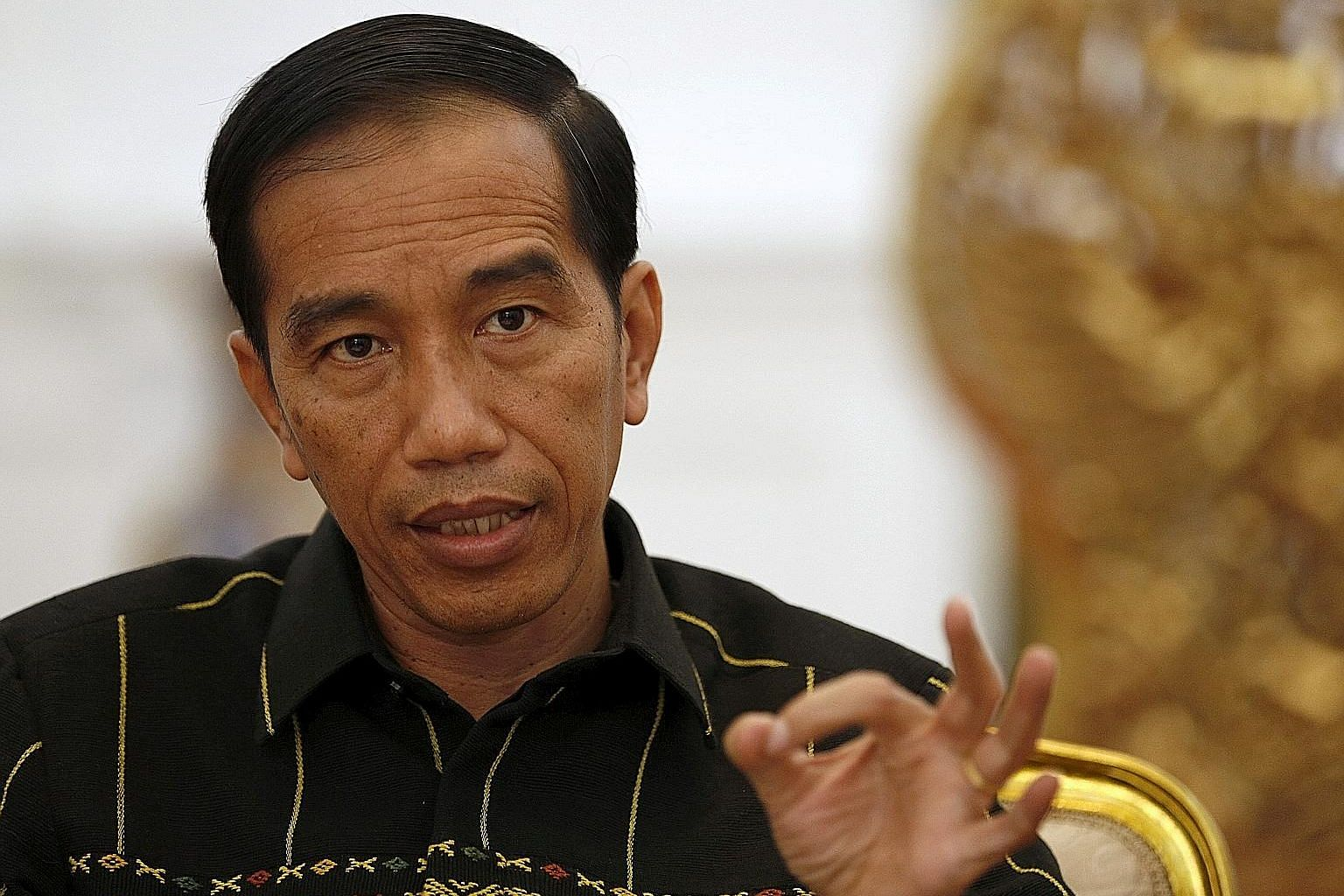 President Joko Widodo says he has asked lawmakers to drop the legislation as there are still materials that need further study. PHOTO: REUTERS