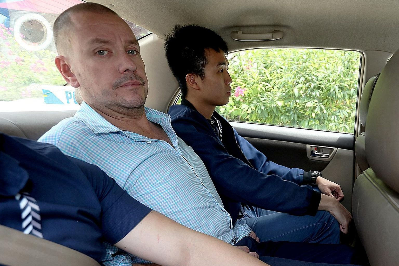Under the new charge, for the alleged offence that led to the death of Mr Nasiari Sunee (above), Andrew Gosling (left) could be jailed for up to 15 years. ST FILE PHOTOS