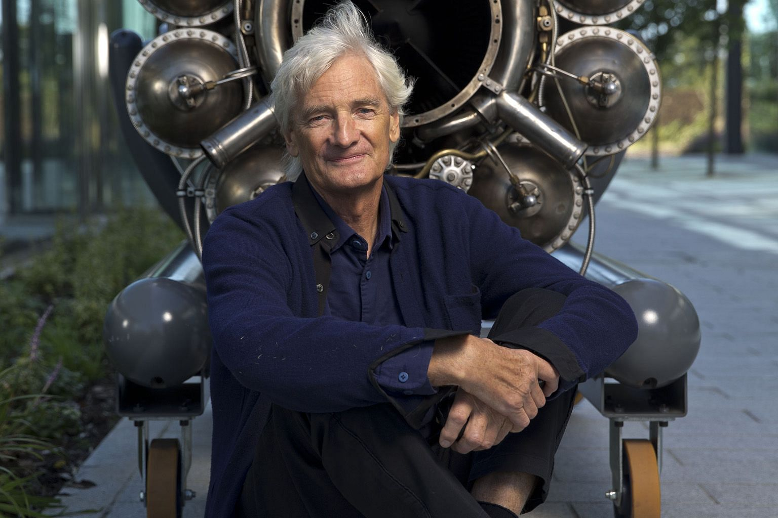 Mr James Dyson, the billionaire founder of electrical appliance giant Dyson, earlier this year decided to relocate the company's head office to Singapore from Britain. His family office has incorporated in Singapore. PHOTO: DYSON