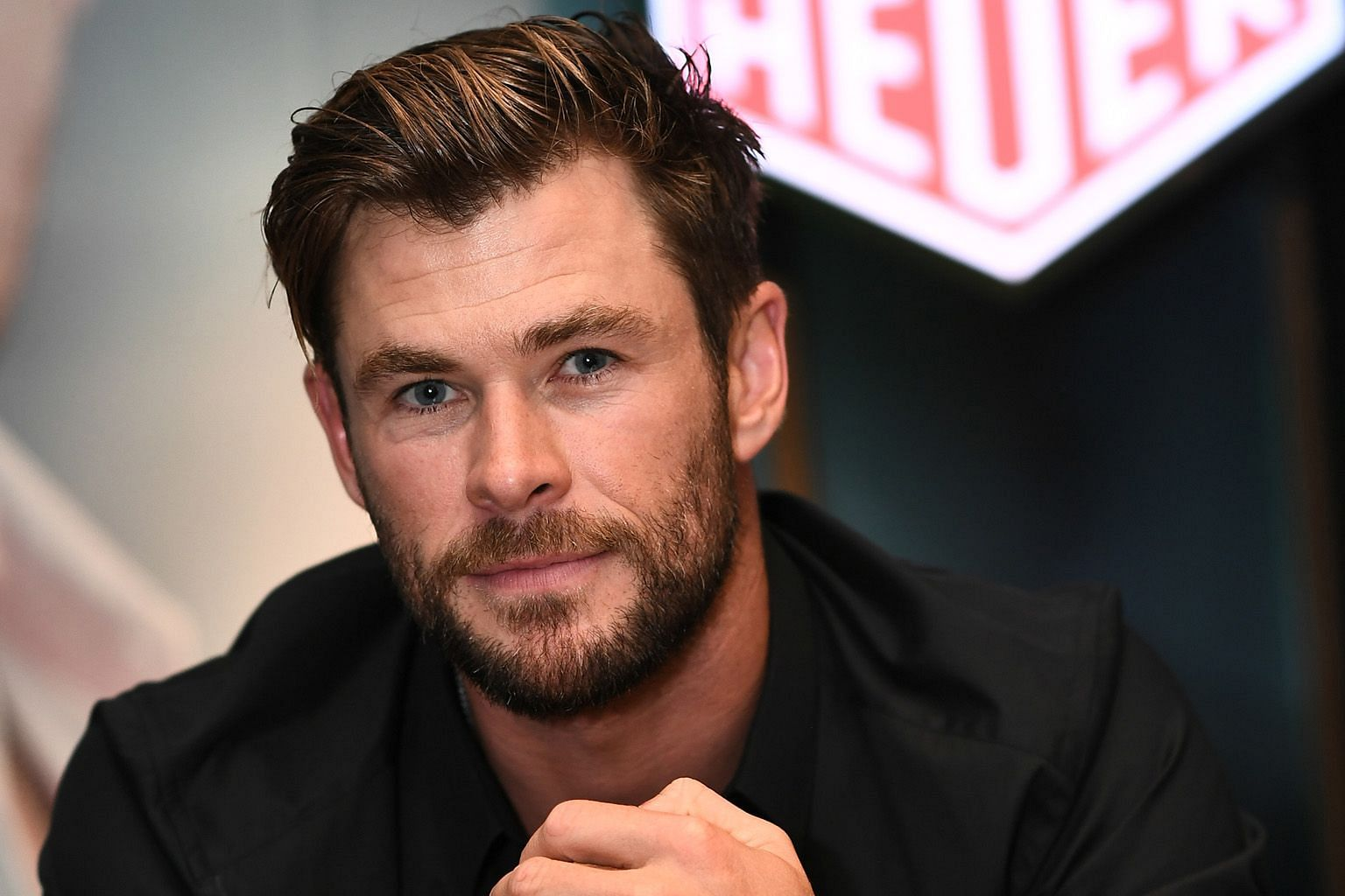 In 2013, Chris Hemsworth was given a Tag Heuer watch by Ron Howard, who directed him in Rush, a motorsport film, and he became the brand's international ambassador in 2015.