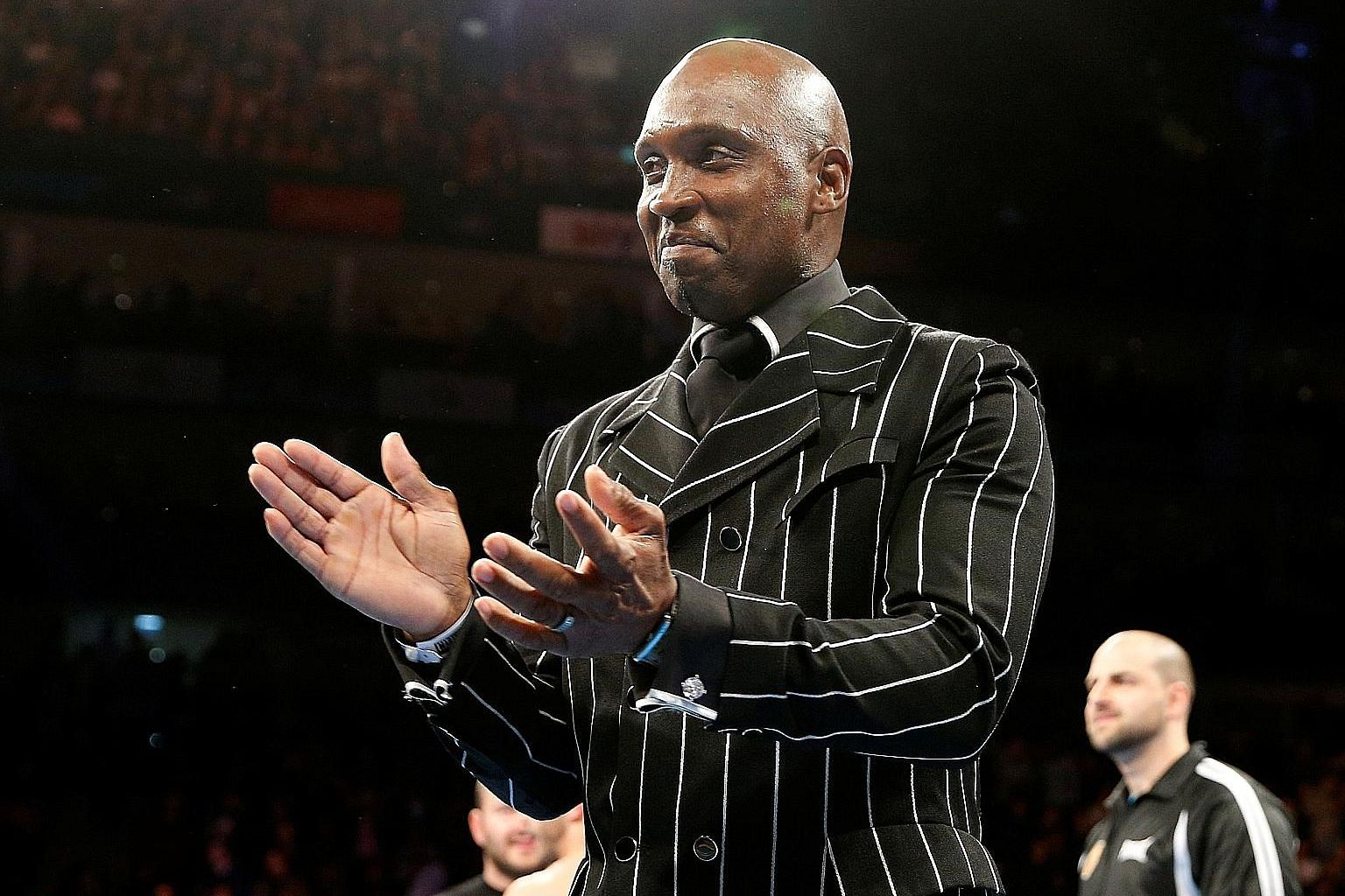 Nigel Benn, 55, will be fighting Sakio Bika, 40, on Nov 23 in his first bout in 23 years. PHOTO: REUTERS