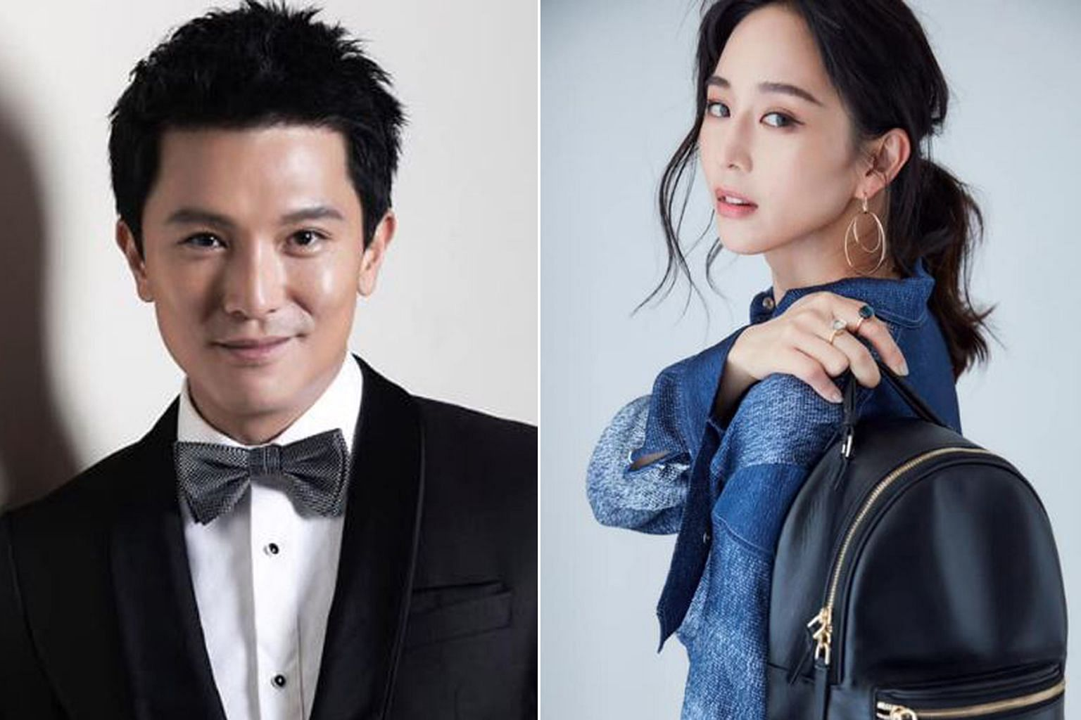 Roy Chiu and Janine Chang were seen leaving his house together and getting into the same car.