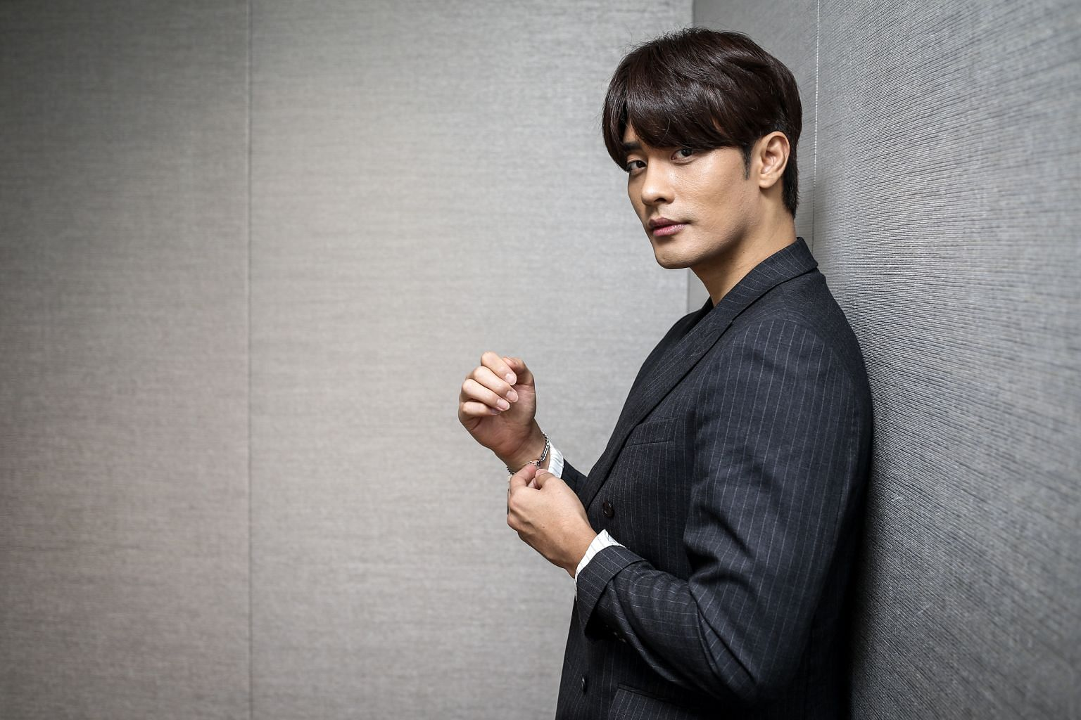 South Korean actor Sung Hoon is the first artist to meet Singapore fans and media in the lead-up to the upcoming StarHub Night Of Stars.
