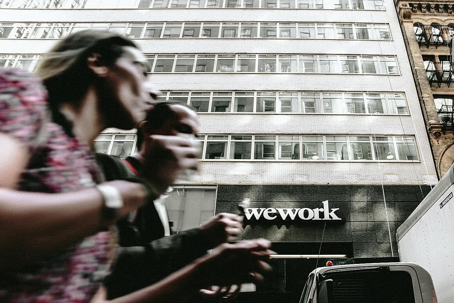 WeWork shelved plans for an initial public offering (IPO) on Monday, a week after chief executive Adam Neumann stepped down. The writer says Mr Neumann's lofty rhetoric counted for little when WeWork's IPO discussions with investors indicated the fir