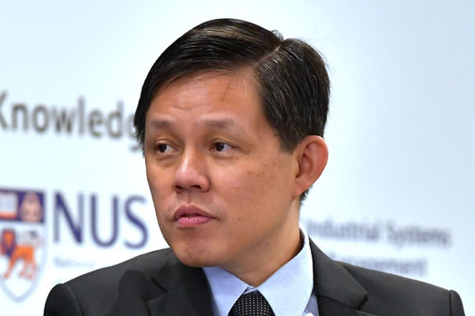 Mr Chan Chun Sing says what is needed goes beyond money as money helps to alleviate only the temporary issues.