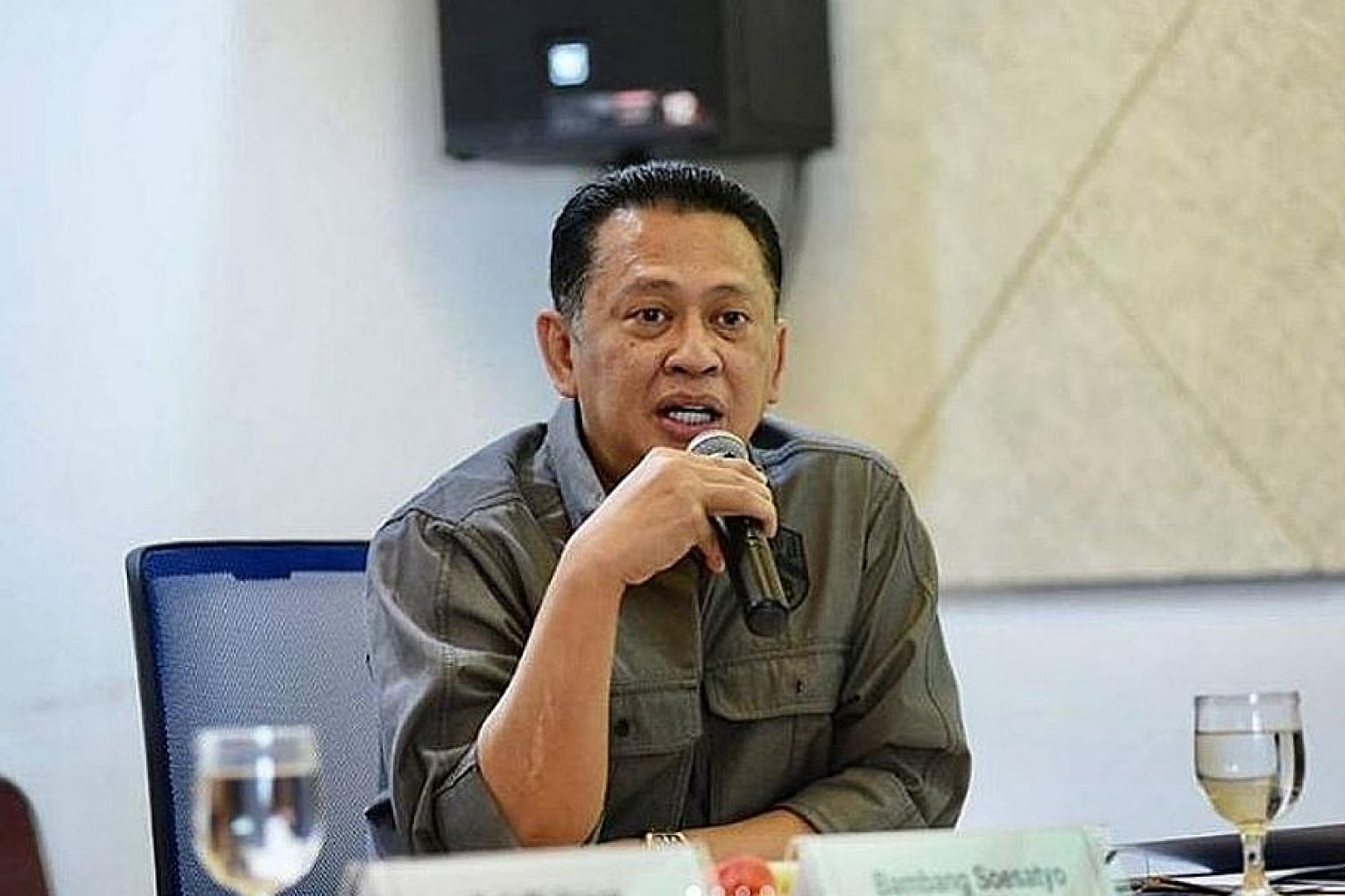Mr Bambang Soesatyo, the new Speaker of the People's Consultative Assembly, was previously Speaker of the House of Representatives. PHOTO: BAMBANG SOESATYO/INSTAGRAM