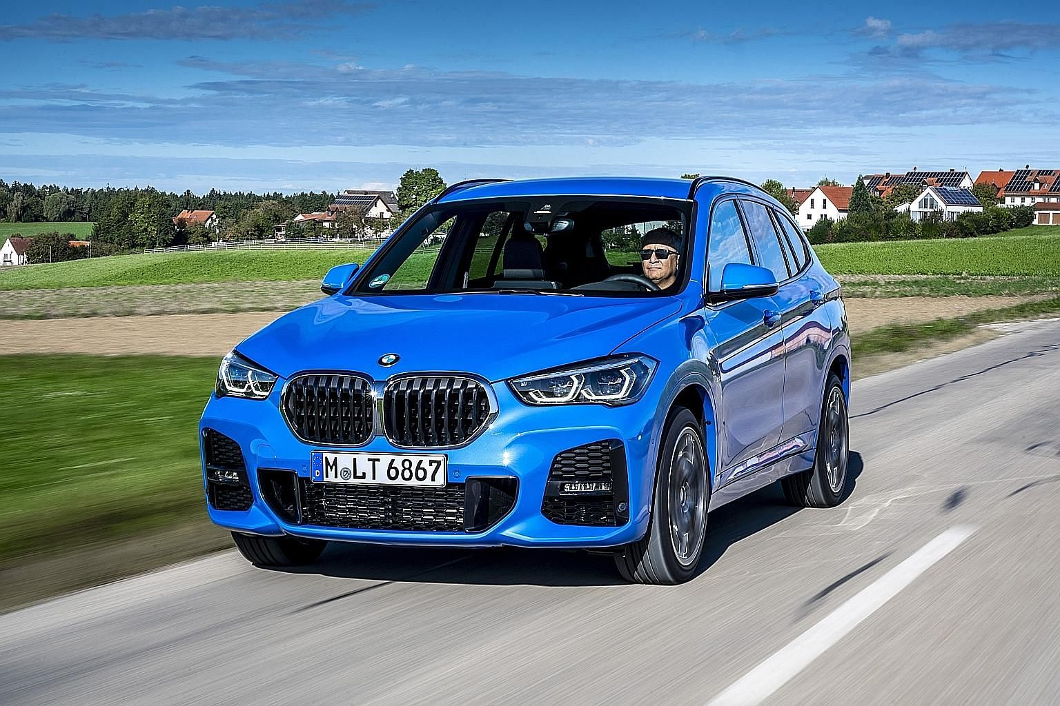 The BMW X1 drives well with little body roll for an SUV and the steering is meaty with sufficient feedback.