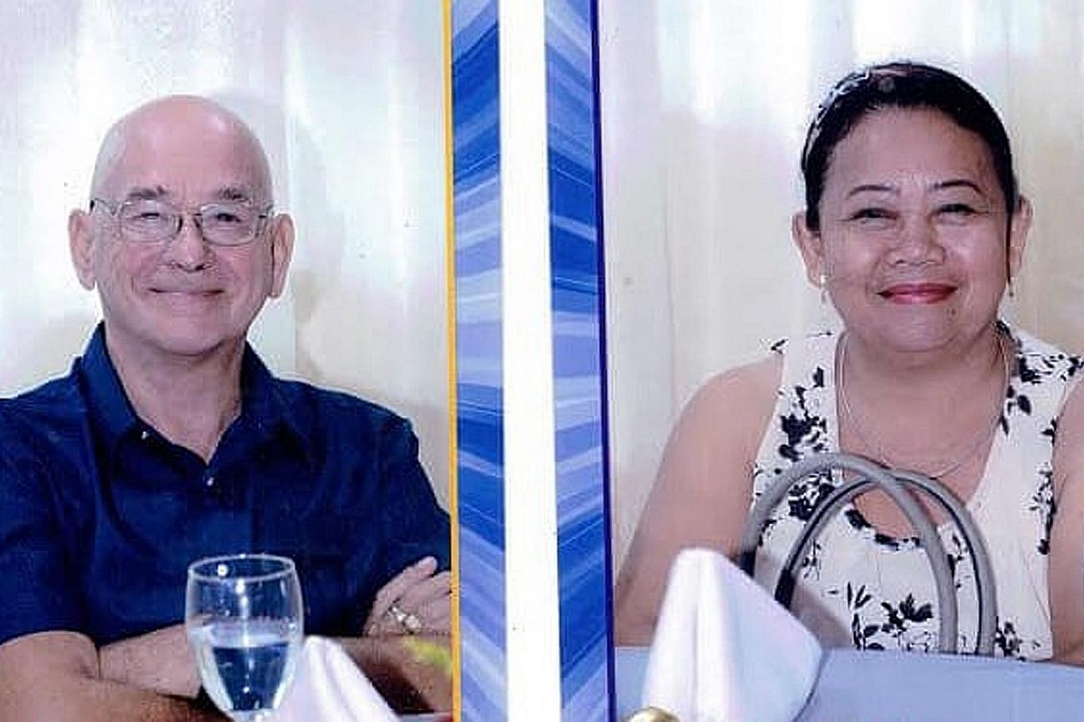 Briton Allan Arthur Hyrons and his Filipino wife Welma Paglinawan-Hyrons were abducted by gunmen from a beach resort.