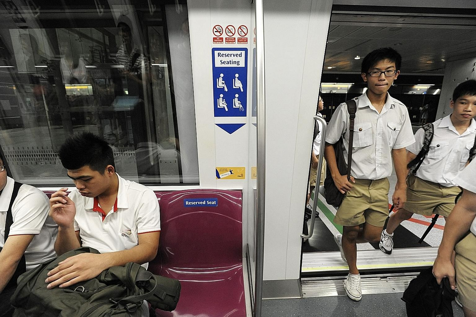 Norms such as queueing up to enter the MRT train and giving up one's seat to a person in need are now clearly established and people are more likely to abide by them, says SMU sociologist Paulin Straughan.