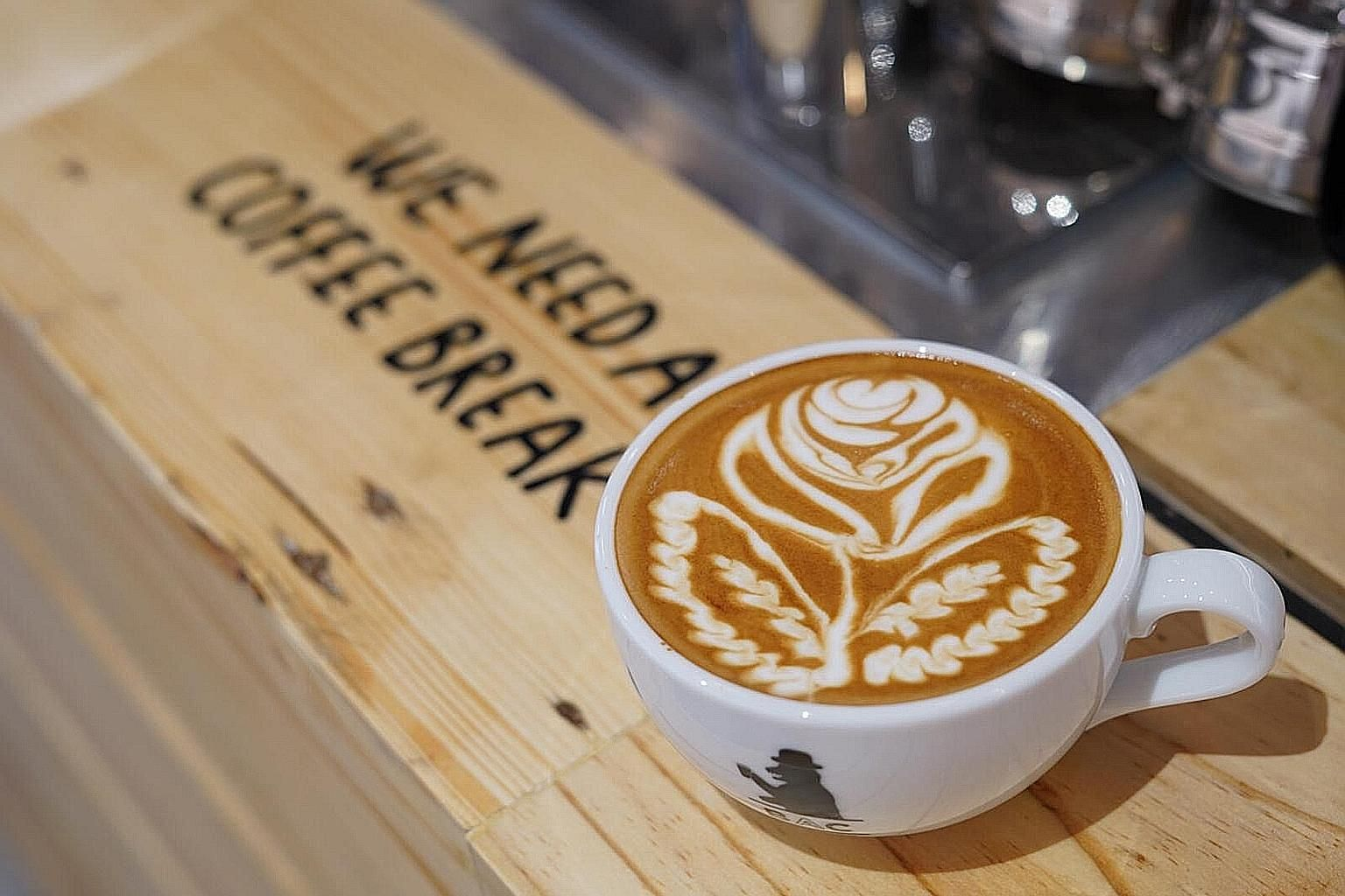 Gourmet Tribe encompasses gourmet events and workshops such as a latte art lesson at Baristart Coffee cafe in Tras Street.